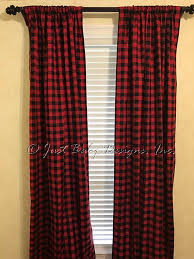 Black Check Curtains And Black Curtain Panels And Black Check Curtain Panels