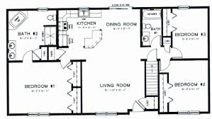 3 bedroom ranch house floor plans ranch homes floor plans