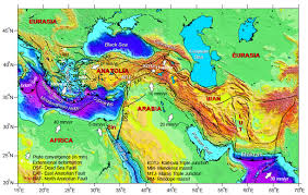 middle east earthquake zone map gerede segment of the anatolian fault mountain beltway