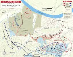 Fort Wilderness Map Battle Of Fort Donelson Civil War Map Battle Fort Donelson