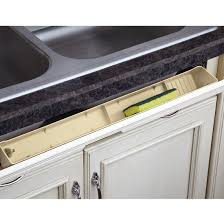 Kitchen Sink Tray Cabinet Organizers Lazy By Rev A Shelf Polymer Tip Out