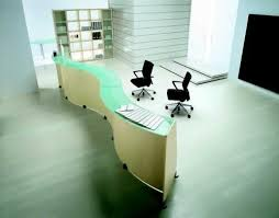 Zig Zag Reception Desk Reception Table Reception Counter Manufacturer From New Delhi