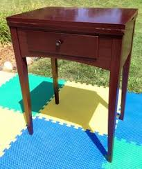 Singer Sewing Machine With Cabinet by Empty Shabby Singer Sewing Machine Cabinet Table Fits 15 90 91 125