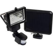 Commercial Solar Powered Flood Lights by 60 Led Solar Security Light Motion Sensor Flood Light