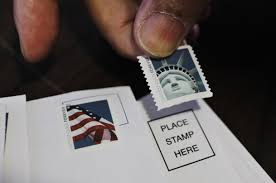 Where Does Stamp Go On Envelope Postal Service May Get More Freedom To Raise Stamp Prices The