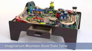 imaginarium train table 100 pieces imaginarium mountain rock train table youtube