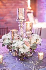 bulk silver vases wedding centerpiece our set of 3 silver mercury glass candle