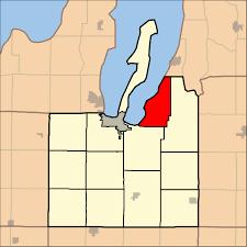 Michigan Township Map by Acme Township Michigan Wikipedia