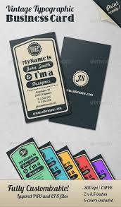 vintage typographic business card templates stationary love