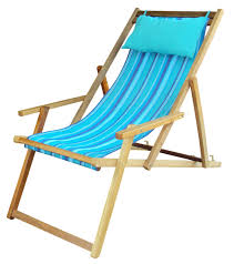 hangit portable polyester fabric wooden chair furniture for garden