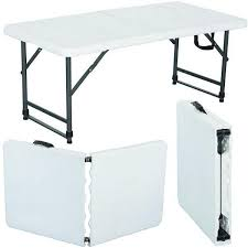 lifetime folding tables 4 stunning 4 foot folding table with wonderful 6 foot plastic folding