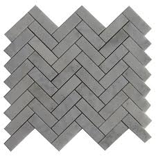 Lowes Canada Wall Cabinets by Shop Bestview Boardwalk Herringbone 12 In X 12 In Natural Stone