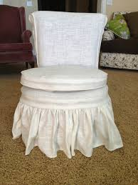 Skirted Vanity Chair The Sewing Nerd