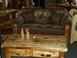 Rustic Living Room Furniture Set Rustic Living Room Log Furniture Appealing Leather And Cedar Sofa