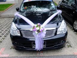 wedding car decoration for rental