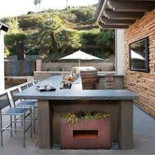 L Shaped Outdoor Kitchen by Exterior Stunning Pictures Of U Shape Outdoor Kitchen Barbeque
