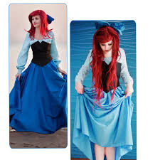 Ariel Halloween Costume Women Cheap Halloween Costumes Princess Women Aliexpress