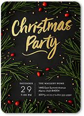 christmas party invitations christmas party invitations shutterfly
