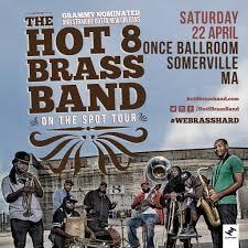 the 8 brass band viva la hop u2013 tickets u2013 once ballroom