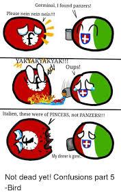 Nein Meme - germinal i found panzers please nein nein nein yakya oups