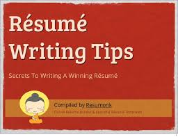 How To Write A Resume Online by How To Write A Resume Cv Resume Writing Tips