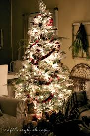 Elegant Christmas Tree Decorating Ideas 2013 by A Comfy Lodge Cabin Christmas Tree U2013 The Details