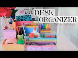 Magnetic Desk Organizer Diy Desk Organizer Back To Room Decor How To Youtube