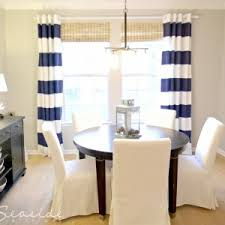 Crate Barrel Curtains Decorating Horizontal Striped Curtains For Your Stylish Window