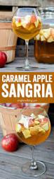 fun thanksgiving cocktails caramel apple sangria recipe caramel apple sangria apple