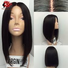 brazilian human hair silk top glueless full lace wigs short human