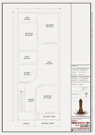 smt leela devi house 20 u0027 x 50 u0027 1000 sqft floor plan and 3d