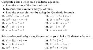 printables quadratic equations worksheet ronleyba worksheets