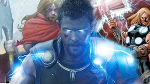 thor ragnarok what new weapon could thor have coming