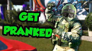 pranking siege player rainbow six siege funtage trickshot