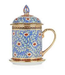 Housewarming Gifts India The East India Company Benjarong Covered Mug Harrods Com