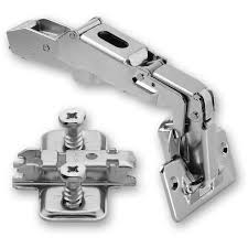 Blum CLIPTOP  Deg Hinge  Cruciform Mount Plate With Screws - Blum kitchen cabinets