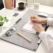 portable office table desk mat large size felt gaming notebook