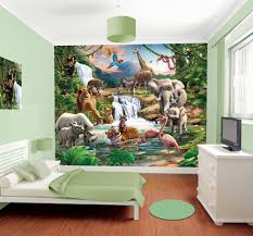 jungle mural kids wall murals jungle mural wall murals by www wallmurals ie