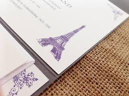 eiffel tower wedding invitations engraved bespoke wedding invitations