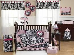 Animal Print Crib Bedding Sets Pink Black White Funky Zebra Baby Bedding Animal Print Baby