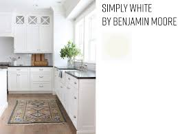 bm simply white on kitchen cabinets sound finish cabinet painting refinishing seattle best