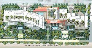 Beach Floor Plans Floor Plans Surf Club Miami Beach Condos