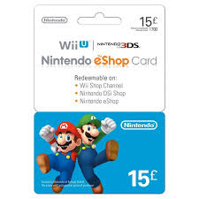nintendo eshop gift card 15 nintendo eshop card gaming gift cards uk