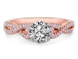 rose color rings images Pink diamonds engagement rings from mdc diamonds nyc jpg