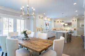Dining Open To Kitchen Love The White The Island The Dining - Kitchen diner tables