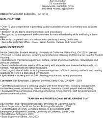 custodian resume templates download free u0026 premium templates