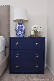 Nightstand Ideas by Best 25 Blue Nightstands Ideas On Pinterest Blue Bedside Tables