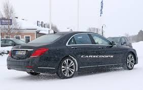 2018 mercedes benz s class spied with bigger screens touch