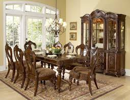 formal dining room sets for 8 metal backless counter stool dark dining room formal sets for 8 square grey classic stained wooden drawer area brown ceramic floor