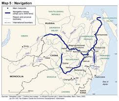 rivers in china map the amur river border once a symbol of conflict could it turn